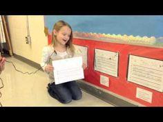 Kindergarten Writing Self Assessment - YouTube