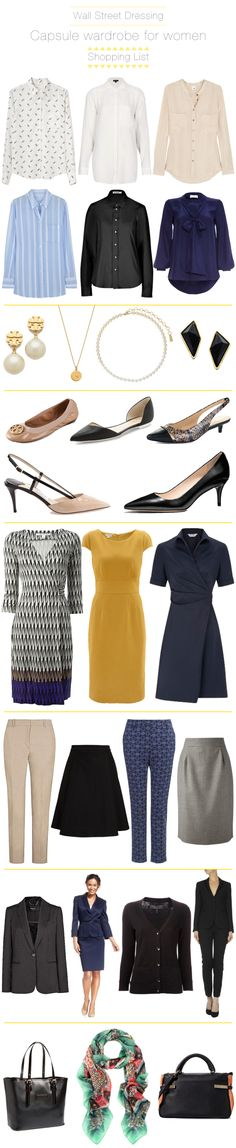 what to wear on wall street for women? Investment bankers, this is for you...