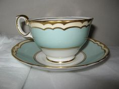 ROYAL STAFFORDSHIRE Cup and Saucer England by FindsandFurnishings, $25.00