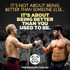 Froning Fridays at www.thewodlife.com.au! Be better than you were yesterday! @RichFroning @grahamholmberg @CrossFit @THE WOD LIFE #crossfit #crossfitgames #richfroning #richfroningjnr #grahamholmberg #thechamp #brosesh #crossfitmotivation #crossfitinspiration #inspiration #instafit #motivation #froningfriday #twlcrew #thewodlife