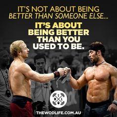 Froning Fridays at www.thewodlife.com.au! Be better than you were yesterday! @RichFroning @grahamholmberg @CrossFit @Matt Valk Chuah WOD LIFE #crossfit #crossfitgames #richfroning #richfroningjnr #grahamholmberg #thechamp #brosesh #crossfitmotivation #crossfitinspiration #inspiration #instafit #motivation #froningfriday #twlcrew #thewodlife