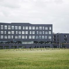Egedal Town Hall and Health Centre will be the uniting centre of the new Municipality of Egedal north of Copenhagen. Egedal Town Hall and Health Centre will be one of the first buildings in the new planned urban area around Egedal Station. Photo by Rasmus Hjortshøj