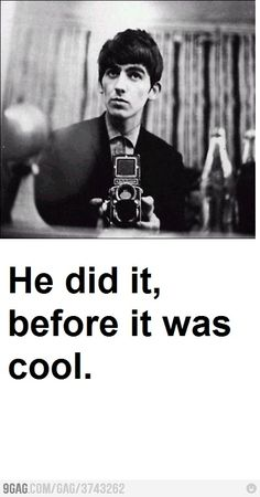 One of the many reasons George Harrison is my favorite Beatle (sorry, mom!)