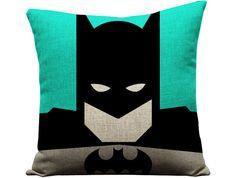 Set of 4 superhero pillows superman pillow by GEEKandtheCHIC