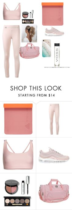 """""""Spiritual Yoga"""" by whitneylodge ❤ liked on Polyvore featuring adidas, Onzie, NIKE, Bobbi Brown Cosmetics, Love Couture and Gray Malin"""