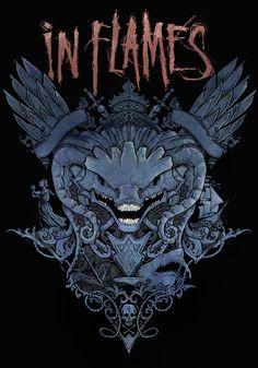 In Flames - Zip Hoodie