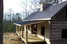 sloped porch roof