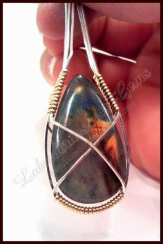 How To Wire Wrap a Stone by jams1033