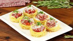 Un classique tout en originalité : muffins à la bolognaise
