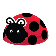 Ladybug Fancy Honeycomb Centerpiece/Case of 6