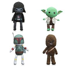 ThinkGeek :: Star Wars Rag Doll Plush