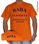 T SHIRT UOMO BABA COFFE SHOP 1 amsterdam by SHIRTSERVICE ebay