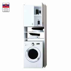 NATALI TYP 1 Mosógép Szekrény Fehér Stacked Washer Dryer, Washer And Dryer, Laundry Room, Home Appliances, Modern, Type 1, House Appliances, Trendy Tree, Washing And Drying Machine