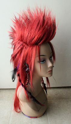 i know, i know... it's a wig! BUT I love this, color and all!!!!