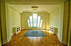 art deco interior window design ideas