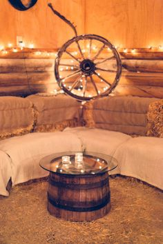 Moose Creek Ranch Barn - Victor, Idaho   Read More on SMP: http://www.stylemepretty.com/2015/03/03/rustic-chic-ranch-wedding-in-jackson-hole/