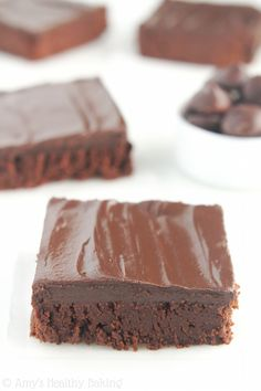 #Clean & #Fudgy #DarkChocolate #Frosted #Brownies #recipe #dessert #glutenfree #gfree #fudge #chocolate #yummy #delicious #lowcalorie #Cincinnati #OH #Ohio #addressthecause #brainbalance #afterschoolprogram http://amyshealthybaking.com/blog/2015/02/04/clean-fudgy-dark-chocolate-frosted-brownies/