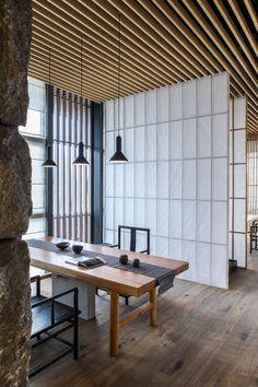 Lin Kaixin Design Co., Ltd., Wu Yongchang · Riverside Teahouse · Divisare.... simplicity...generous dedicated space