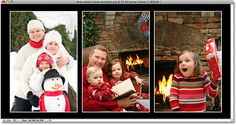 how to create christmas cards in photoshop