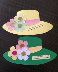 Paper Flower Bouquet Craft for Kids Spring Crafts For Kids, Mothers Day Crafts For Kids, Mothers Day Cards, Summer Crafts, Art For Kids, Preschool Crafts, Easter Crafts, Diy Crafts, Art N Craft