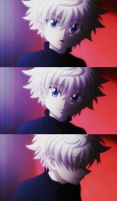 Killua is SUCH a sweetheart!! But um, don't let that adorable face fool you. Word of advice... don't make him mad and don't threaten his best friend, Gon. Killua don't play that. ;) #HunterxHunter