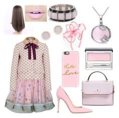 """""""#23"""" by princesscarlyne on Polyvore featuring August Hat, Supersweet, Gianvito Rossi, Gucci, Kate Spade, Casetify, Michael Kors, Amour, Chico's and Clinique"""