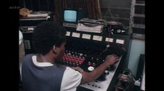 "Scientist at the console (from BBC doc ""Musical Roots"")"