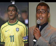 Romário da Souza Faria jugador de la selección de Brasil con la cual  ganó la Copa Mundial de Fútbol de 1994 celebrada en los EE. UU. y obtuvo el trofeo Balón de Oro al Mejor Jugador del torneo. Fue también dos veces Campeón de la Copa América en 1989 y 1997. Actualmente es diputado Federal de Brasil.
