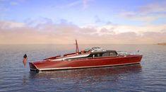 Beautiful POSH Yacht Tender