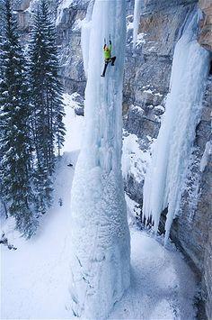 Image: Ice climbing in Colorado (© Keith Ladzinski/Barcroft Media /Landov)