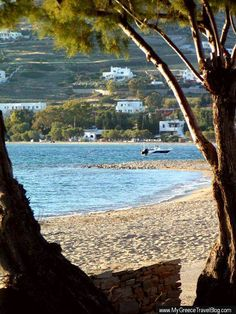Parikia Beach, Paros Island
