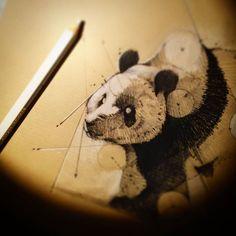 #sketch #panda #white #test #more #daily #drawinganyway