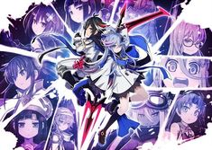 Mary Skelter 2 Officially Announced For PlayStation Releases June 28 In Japan - Siliconera Playstation, Gaming Banner, English Games, Anime Weapons, Poster Ads, Video Game Console, Cover Design, Samurai, Mary