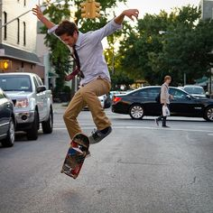this guys dressed nice on skateboards thing...im into it.