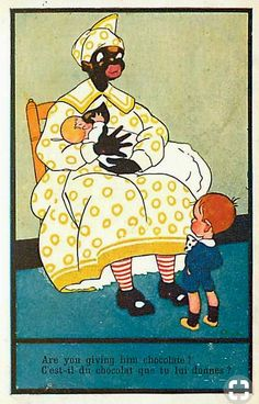 Racist cartons of the 1930s . . .