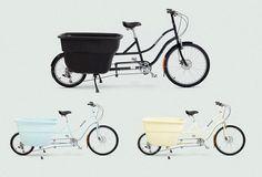 Lleva todo en las Cargo Bikes