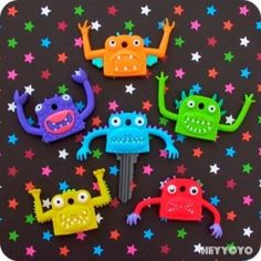 Favors - Monster key covers for a lucky teens car key. (($))