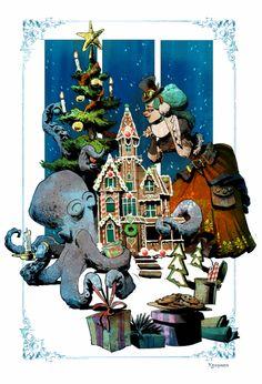 otto's first christmas by BrianKesinger.deviantart.com