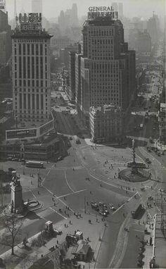 Columbus Circle, New York 1930