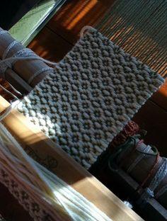 Birdseye Twill on table loom