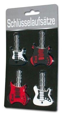 Rockgitarren Schlüsselaufsätze
