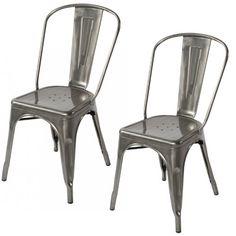 Lemoderno Galvanized Steel Side Chair (2, Gun Metal) Lemoderno http://www.amazon.com/dp/B00KB3XEWC/ref=cm_sw_r_pi_dp_vggXub1WKD9YT