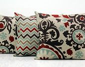 Decorative Pillow Covers for Couch Decorative Throw Pillows Cushion Cover Denton Tan 3 Pillows