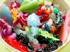 White Cuttlefish Necklace by indolentjellyfish on Etsy