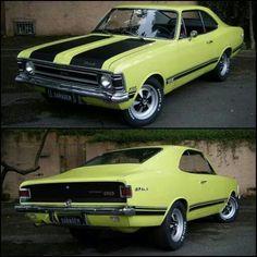 Opala SS, a brazilian classic and muscle car.