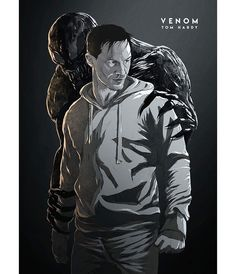 Tom Hardy posts in his instagram @tomhardy fan-art posters for the movie #venom. I do not think that he will see it, but it's worth…#marvel #sony Marvel Actors, Marvel Art, Marvel Comics, Man Movies, Comic Movies, Venom Comic Book, Venom Comics, Tom Hardy, Marvel Cinematic Universe
