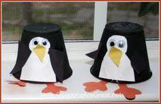 Penguin craft.