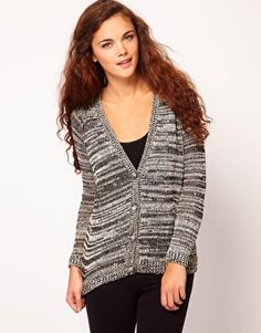 River Island V Neck Sequin Cardigan
