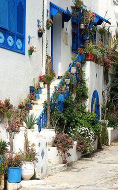 Sidi bou Said, Tunisia