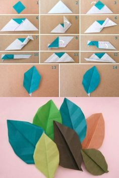 Paper Leafs